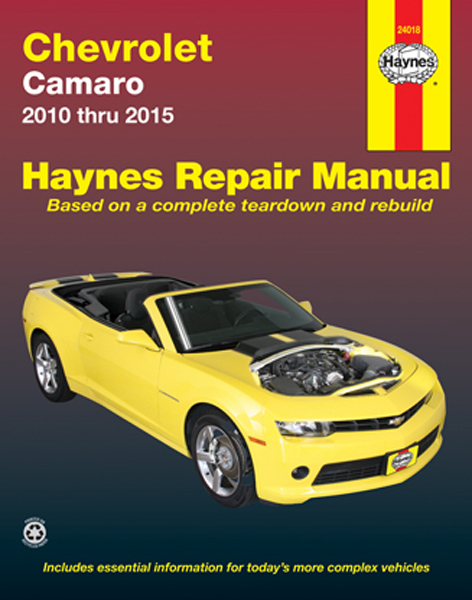 Chevy Camaro Haynes Repair Manual (2010-2015)