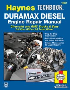 Chevy & GMC Duramax Diesel Engine Haynes Techbook (2001-2012)