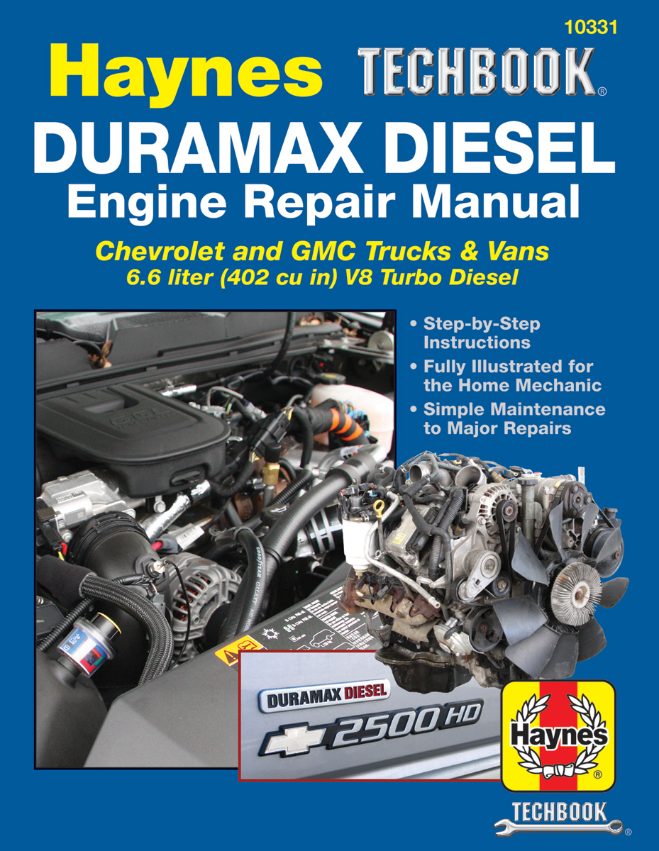 Chevy & GMC Duramax Diesel Engine Haynes Techbook (2001-2019)