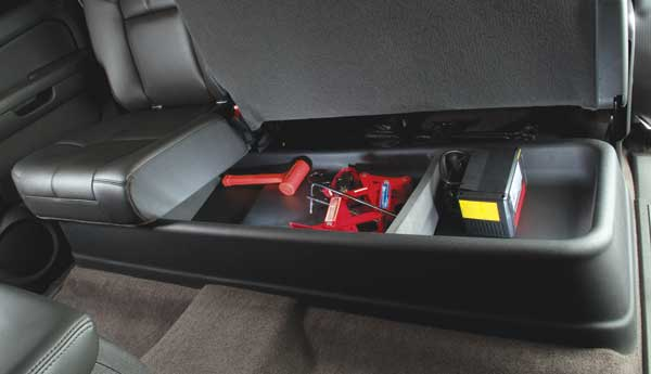 Image of Chevy Silverado & GMC Sierra GearBox Under-Seat Storage System (1999-2014)