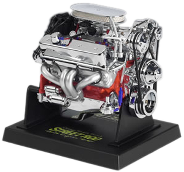 Image of Chevy Small Block Street Rod Die-Cast Engine