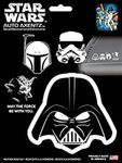 Star Wars™ Heads Family Decal Kit (4 Pc)