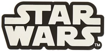 Star Wars™ Logo Chrome Colored Decal