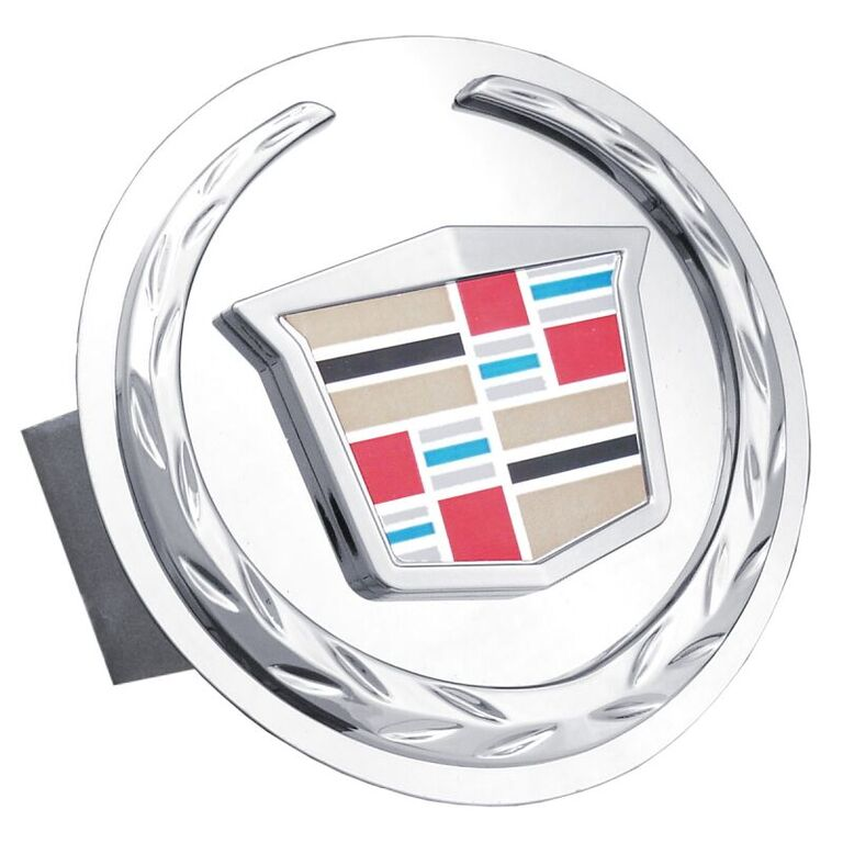 Chrome New Cadillac Logo Stainless Steel Hitch Plug