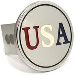 Chrome USA Stainless Steel Hitch Plug