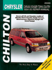 Chrysler Caravan Voyager and Town & Country Chilton Manual (1984-1995)