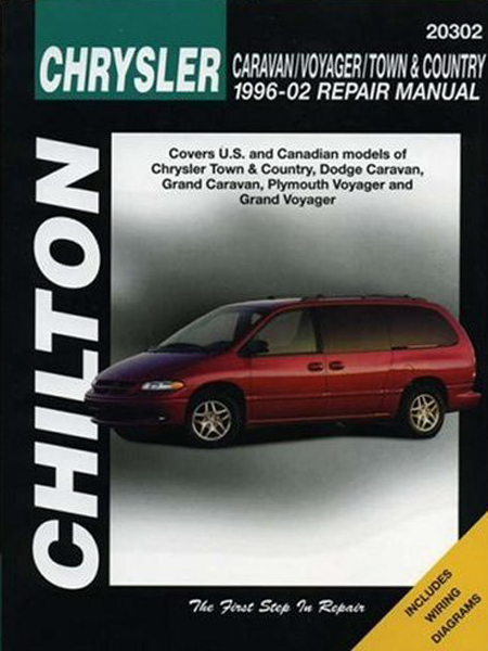 Chrysler Caravan Voyager and Town & Country Chilton Manual (1996-2002)