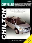 Chrysler Caravan,Voyager and Town & Country Chilton Repair Manual (2003-2007)