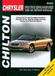 Chrysler Cirrus, Stratus, Sebring, Avenger & Breeze Chilton Manual (1995-1998)