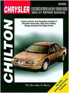 Chrysler Concorde, Intrepid, New Yorker, LHS & Vision Chilton Manual (1993-1997)