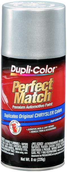 Chrysler - Dodge - Jeep Metallic Bright Silver Auto Spray Paint - PS2  (1999-2017)