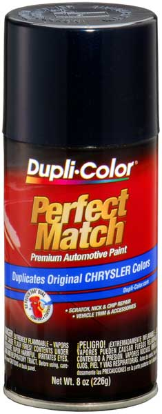 Chrysler - Dodge - Jeep Sapphire Blue Pearl Auto Spray Paint - PBW YBW (2001-2010)