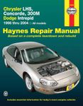 Chrysler LHS, Concorde, 300M & Dodge Intrepid Haynes Repair Manual (1998-2004)
