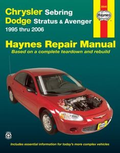 Chrysler Sebring & Dodge Stratus/Avenger Haynes Repair Manual (1995-2006)