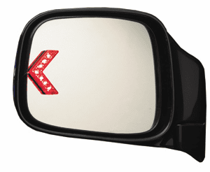 CIPA Add-A-Signal Side View Mirror Indicator (Pair)