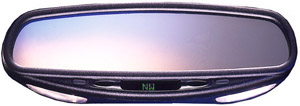 CIPA Auto Dimming Rearview Mirror w/Map Lights Compass & Temperature -  No Map Light
