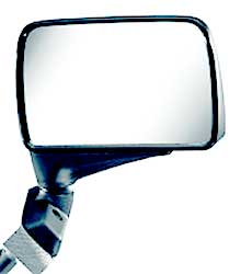 Image of CIPA Black Universal Flag Style Side View Car Mirror