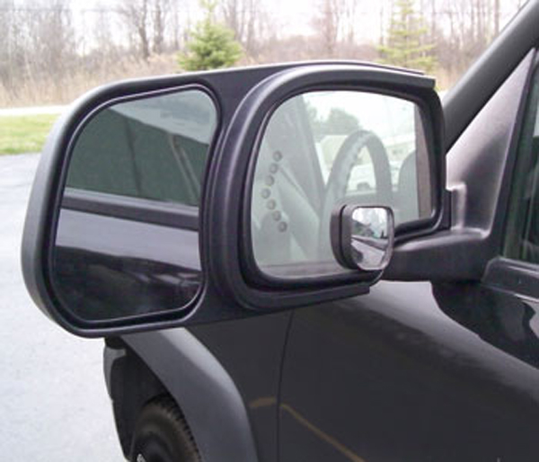 Image of CIPA GMC Chevy & Cadillac Custom Towing Mirrors-Pair (1999-2007)