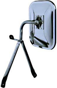 Image of CIPA OE Style Universal Low Mount Chrome Side View Mirror