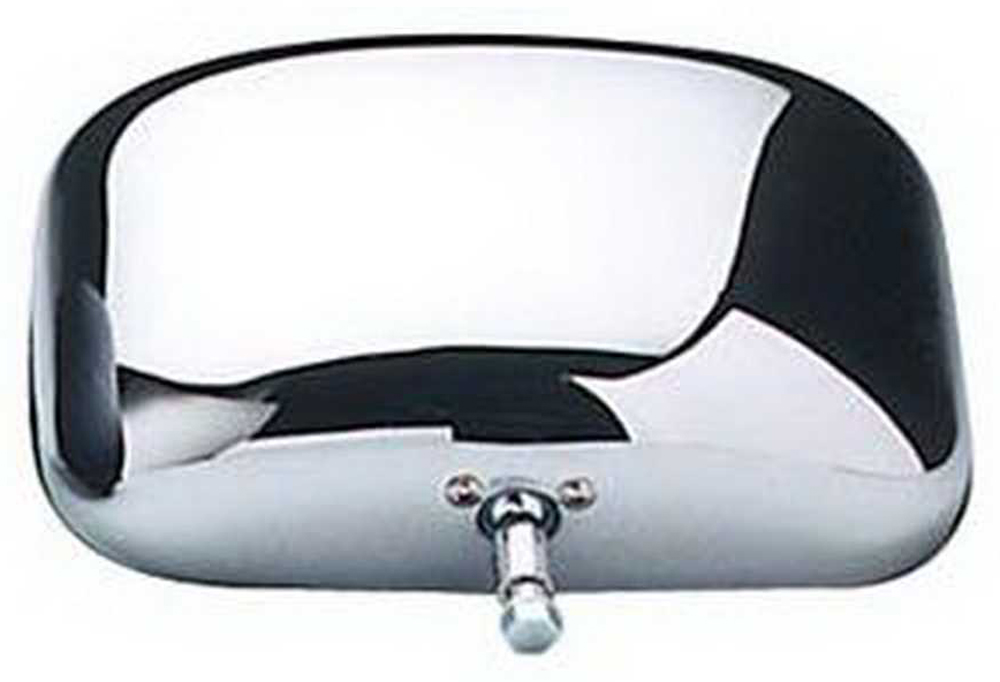 """Image of """"CIPA OE Style Universal Chrome Side View Replacement Mirror Head (5"""""""" x 8"""""""")"""""""