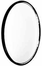 "CIPA 3/"" HotSpots Round Stick-On Convex Mirror CIP49202"