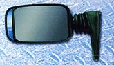 CIPA Universal Mount Lighted Euro Sport Side View Mirror