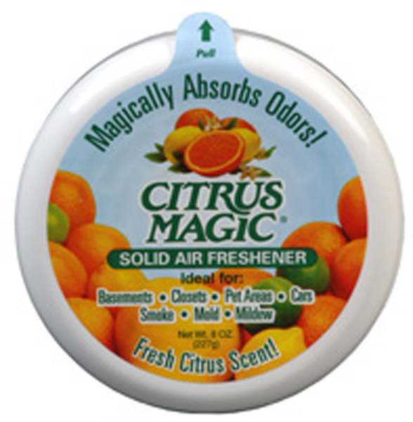 Image of Citrus Magic Fresh Citrus Solid Air Freshener (3.5 oz.)