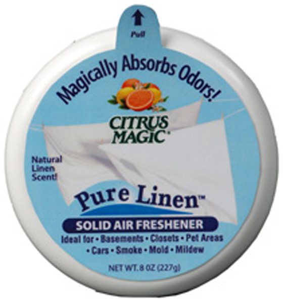 Image of Citrus Magic Pure Linen Solid Air Freshener (3.5 oz.)