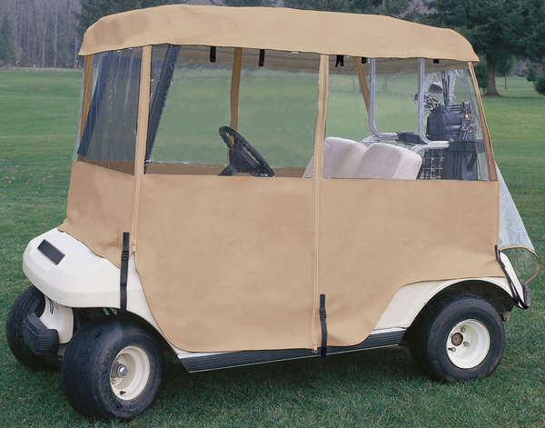 Image of Classic Deluxe 4-Sided Golf Car Enclosure