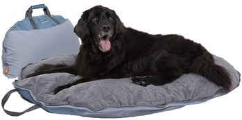 Classic DogAbout Folding Pet Quilted Travel Bed