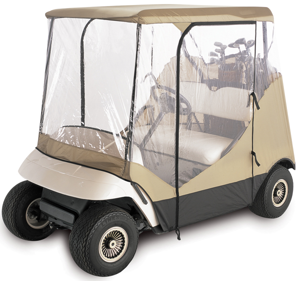 Image of Classic Fairway 4-Sided Travel Golf Car Enclosure