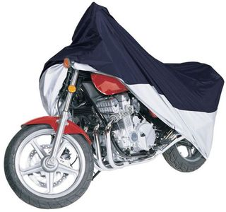 Classic MotorGear Blue & Silver Sports Motorcycle Cover
