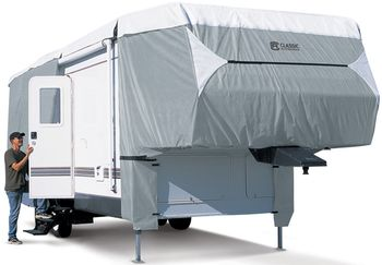 Classic Polypro III Deluxe 5th Wheel Trailer Cover