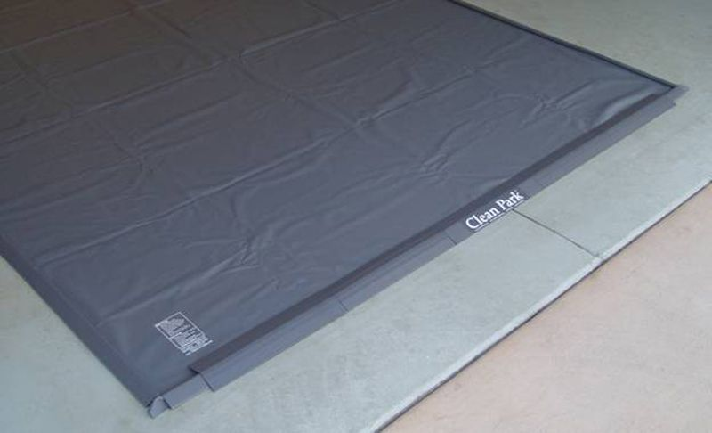Clean Park Gray Standard Garage Mats Acp Series