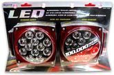 Clear Lens Submersible Trailer LED Lighting Kit