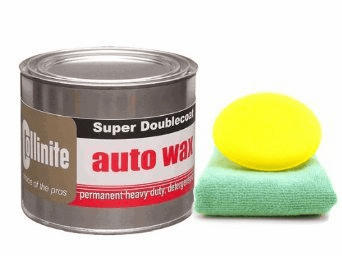 Collinite 476S Double-Coat Paste Wax (18 oz.), Microfiber Cloth & Foam Pad Kit