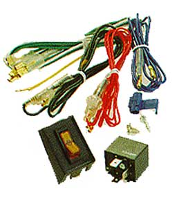Complete Wiring Kit  for Auxiliary Lights