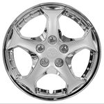 Concept Profile Chrome Plated Wheel Covers (Set of 4)