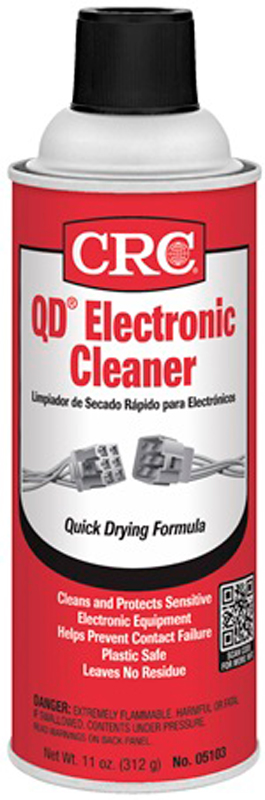 Image of CRC Quick Dry Electronics Cleaner (11 oz)