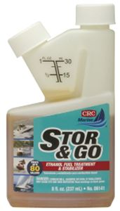 CRC Stor & Go Ethanol Fuel Treatment & Stabilizer (8 oz)