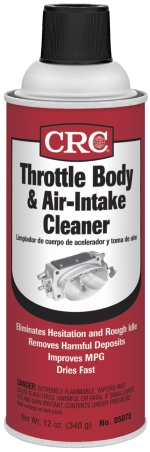 Image of CRC Throttle Body & Air Intake Cleaner (12 Oz)