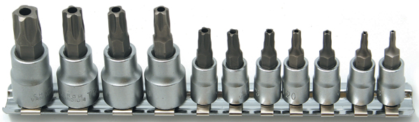 Image of CTA 11 Pc. 5 Point Torx Plus Tamper Proof Socket Set