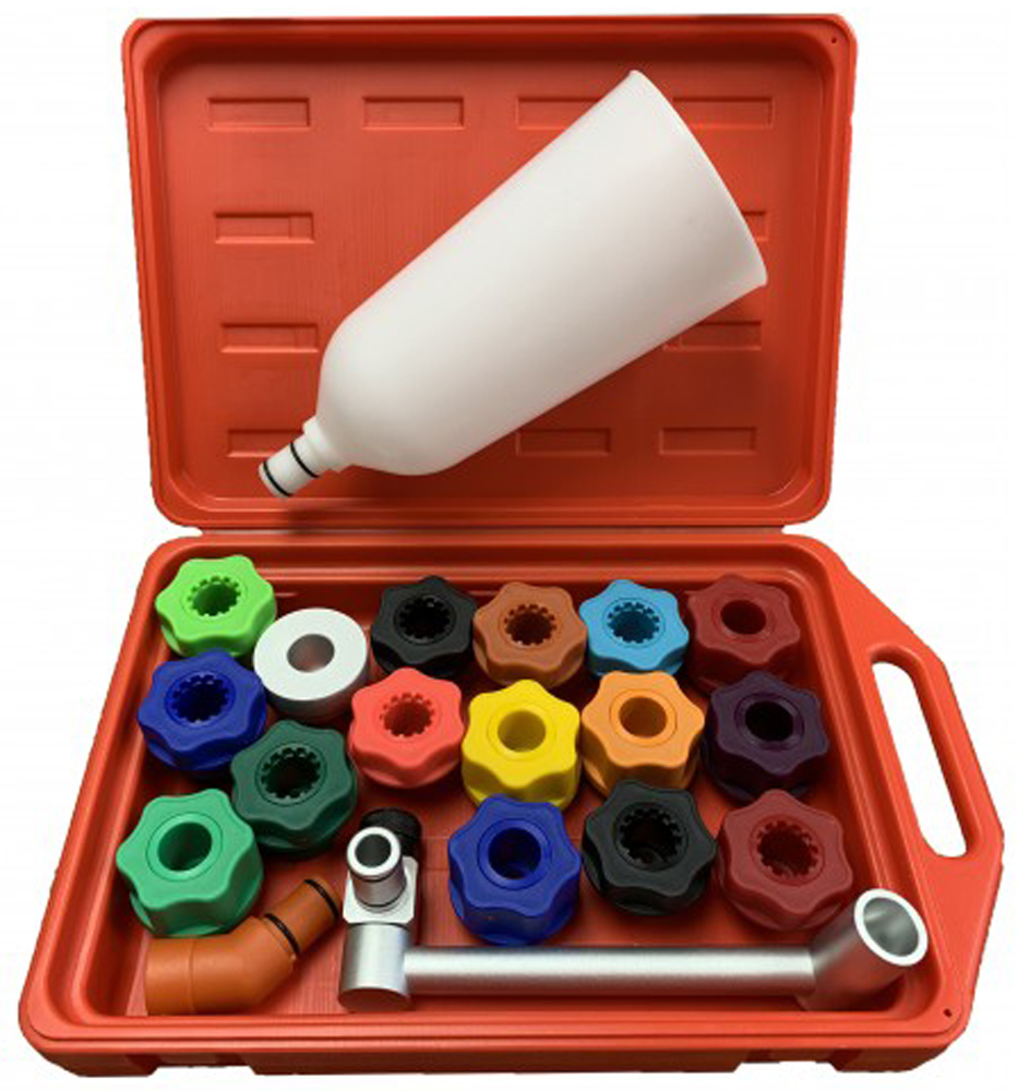 Image of CTA Master Oil Funnel Kit (19 Piece)
