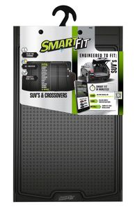 Smart-Fit All Weather Black Rubber Cargo Mat for SUV's and Crossovers