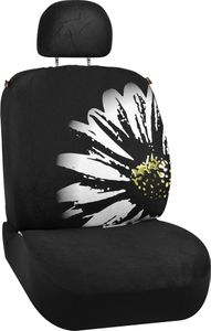 Daisy Flower Design Universal Low Back Seat Cover