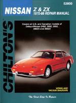 Datsun/Nissan Z & ZX (1970-88) Chilton Manual