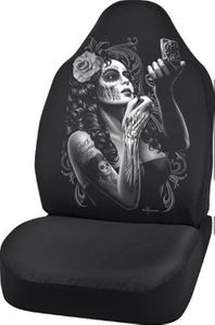 David Gonzales Skin Deep Universal Bucket Seat Cover