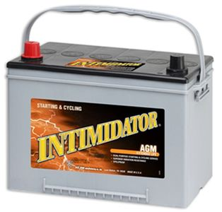 Deka 9A34 AGM Intimidator Battery (775 CCA)