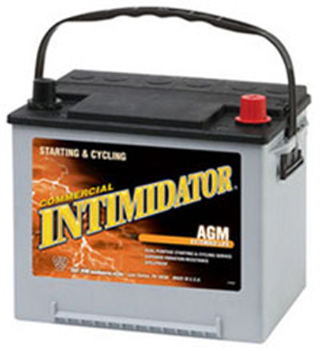 Image of Deka 9A35/85 AGM Intimidator Battery (640 CCA)