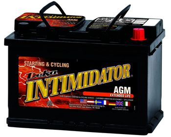 Deka 9A48 AGM Intimidator Battery (760 CCA)